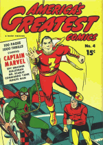 Cover For America's Greatest Comics