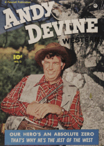 Cover For Andy Devine Western