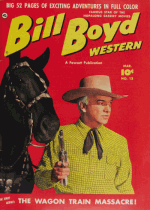 Cover For Bill Boyd Western