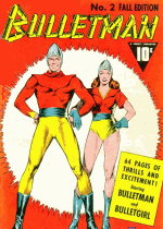 Cover For Bulletman