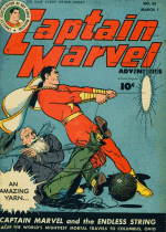 Cover For Captain Marvel Adventures