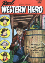 Cover For Real Western Hero