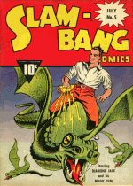 Cover For Slam-Bang Comics