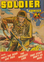 Cover For Soldier Comics