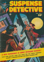 Cover For Suspense Detective