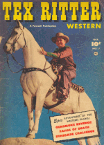 Cover For Tex Ritter Western