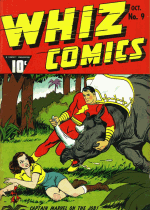 Cover For Whiz Comics