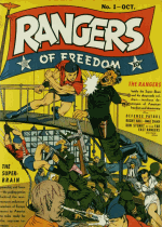 Cover For Rangers Comics