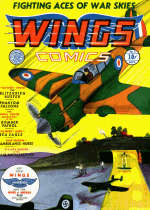Cover For Wings Comics