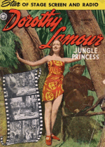 Cover For Dorothy Lamour, Jungle Princess