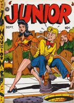 Cover For Junior Comics