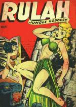 Cover For Rulah, Jungle Goddess