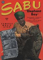Cover For Sabu Elephant Boy