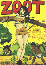 Cover For Zoot Comics