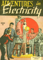 Cover For Adventures in Electricity