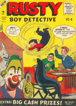 Cover For Rusty, The Boy Detective