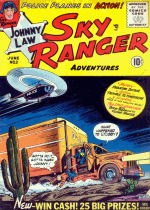 Cover For Johnny Law, Sky Ranger