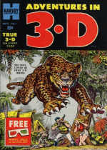Cover For Adventures in 3-D