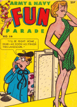Cover For Army & Navy Fun Parade