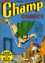 Cover For Champ Comics