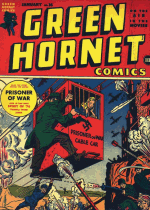 Cover For Green Hornet-Fights Crime-Racket Buster