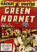 Cover For Green Hornet, Racket Buster