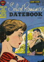 Cover For Hi-School Romance Datebook