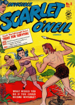 Cover For Invisible Scarlet O'Neil