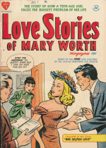 Cover For Love Stories of Mary Worth