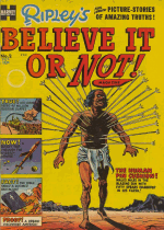 Cover For Ripley's Believe It Or Not