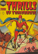 Cover For Thrills of Tomorrow