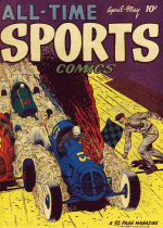 Cover For All-Time Sports Comics