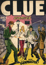 Cover For Clue Comics