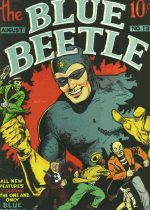 Cover For Blue Beetle