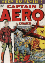 Cover For Captain Aero