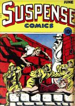 Cover For Suspense Comics