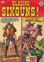 Cover For Blazing Sixguns