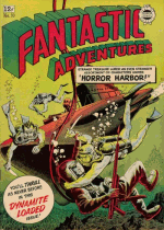 Cover For Fantastic Adventures