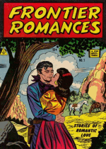 Cover For Frontier Romances