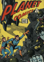 Cover For Planet Comics