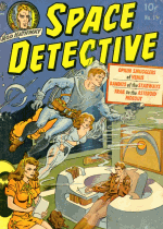 Cover For Space Detective