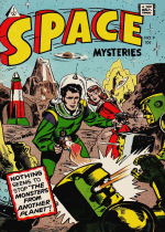 Cover For Space Mysteries