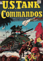Cover For U.S. Tank Commandos