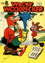 Cover For Wacky Woodpecker