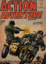 Cover For Action Adventure Comics