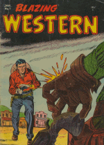 Cover For Blazing Western
