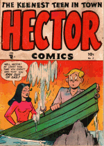 Cover For Hector Comics