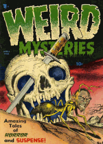 Cover For Weird Mysteries