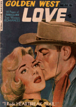 Cover For Golden West Love