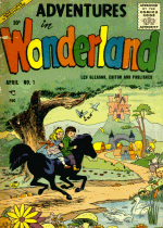 Cover For Adventures in Wonderland